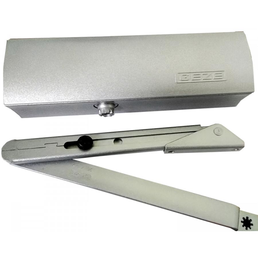 Доводчик GEZE TS 1500 C с локтевой тягой (серебро)