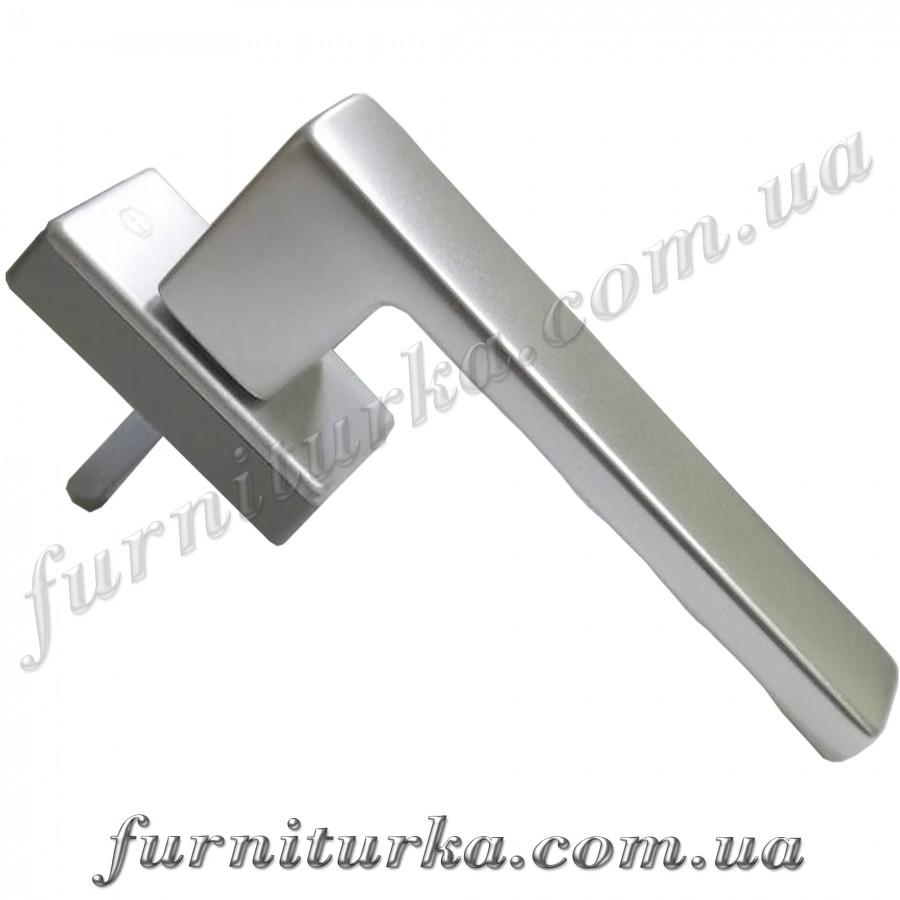 Ручка оконная Hoppe Toulon Secustik серебро