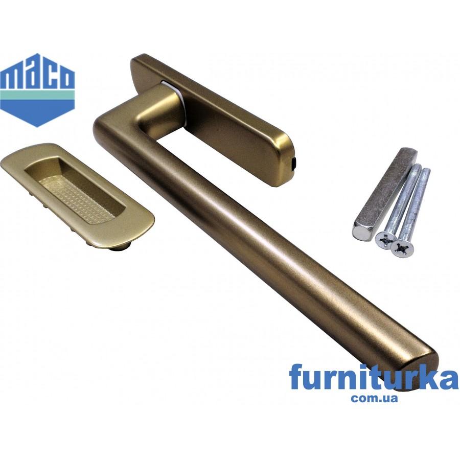 Ручка Масо для подъемно-сдвижных систем (бронза)