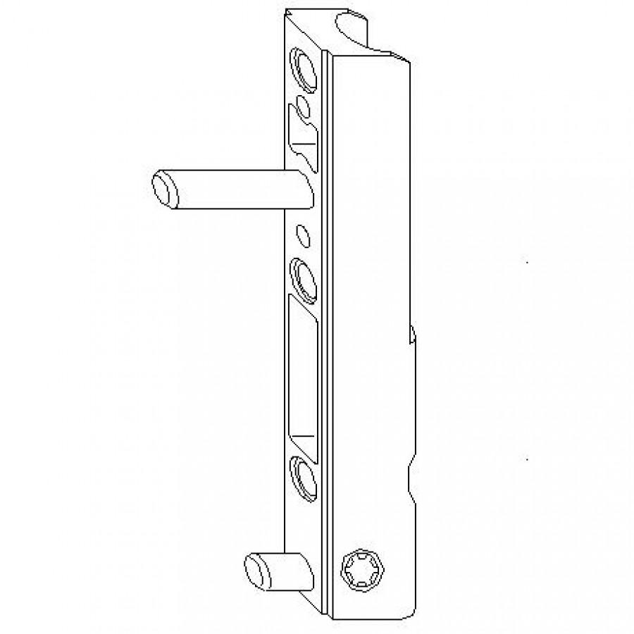 Нижняя петля створки (5 мм)