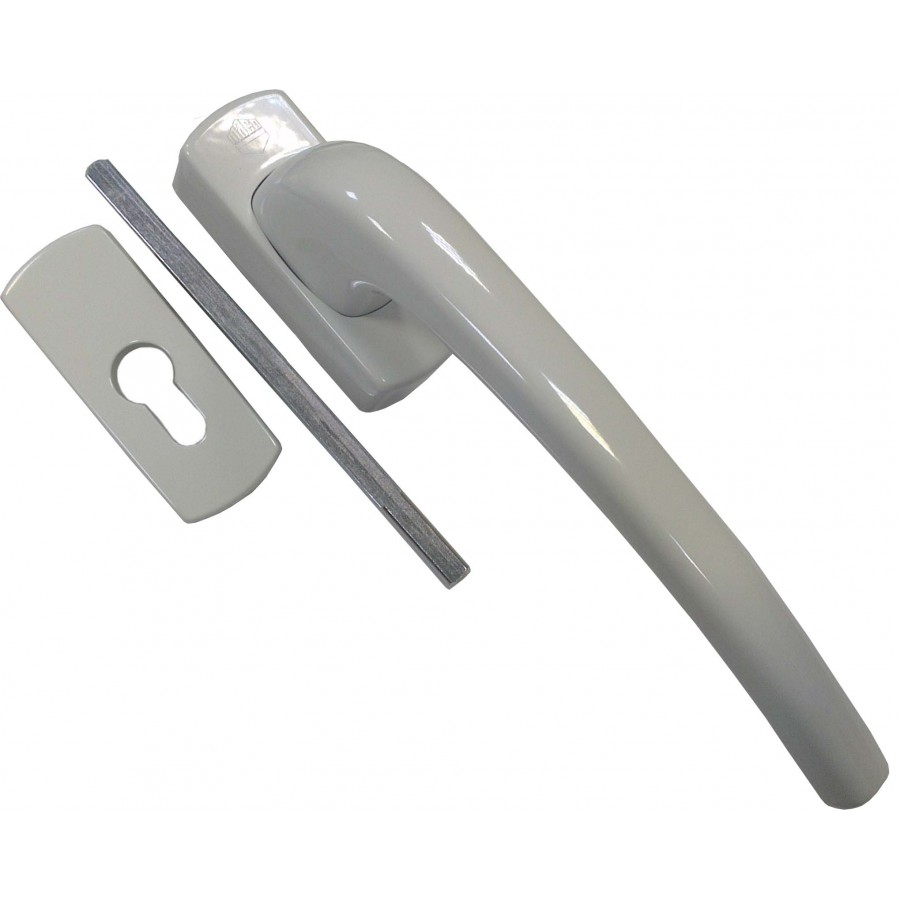 Ручка Масо раздвижной системы автомат (SKB-Z) внутренняя белая