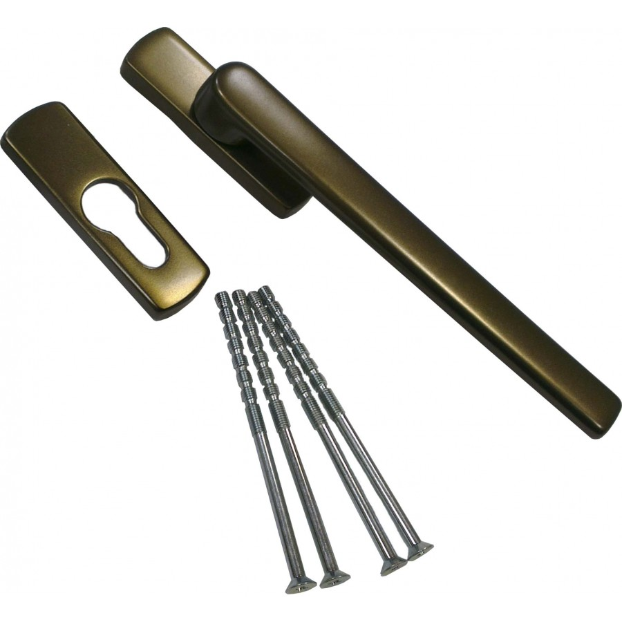 Ручка Масо раздвижной системы автомат (SKB-Z) внешняя бронза