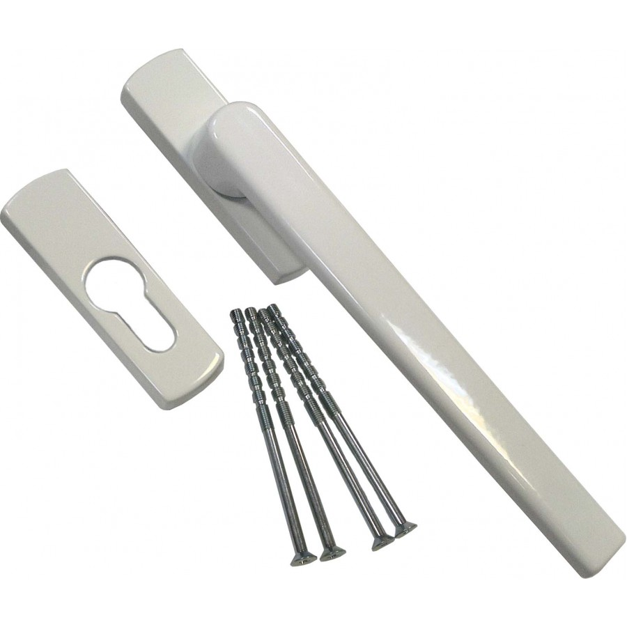 Ручка Масо раздвижной системы автомат (SKB-Z) внешняя белая