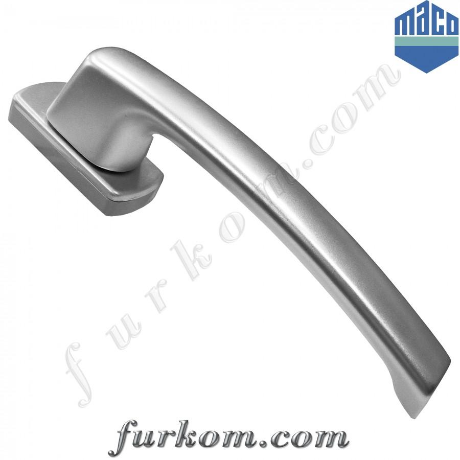 Ручка для раздвижной системы Масо (серебро), без штифта