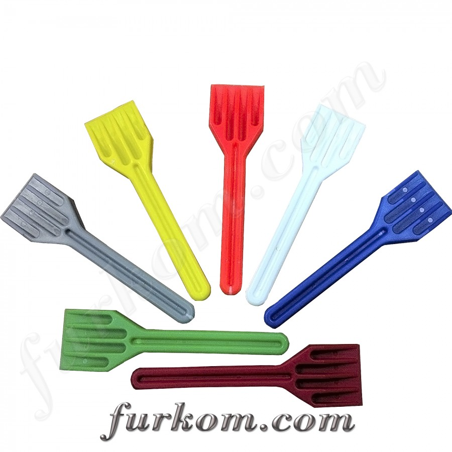 Лопатка для монтажа стеклопакета цельная из пластика
