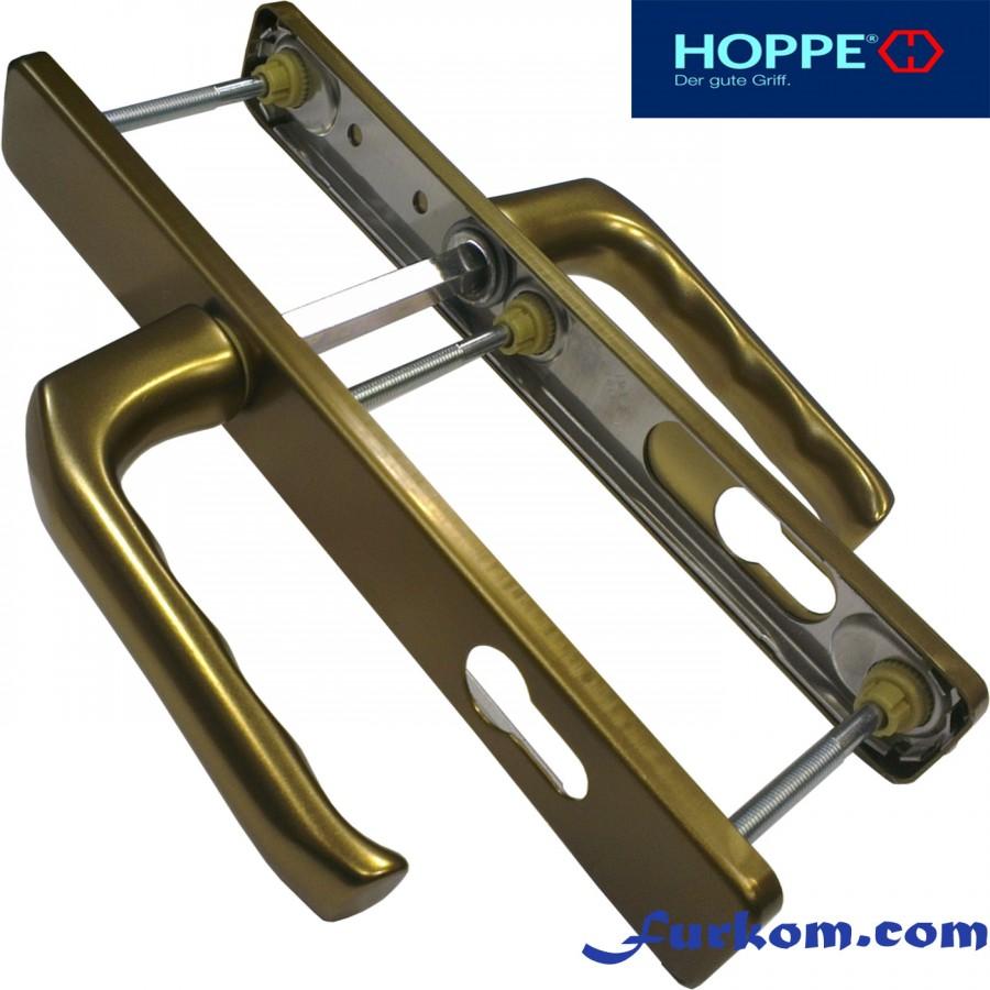 2205552 Ручка дверная Hoppe London (бронза)