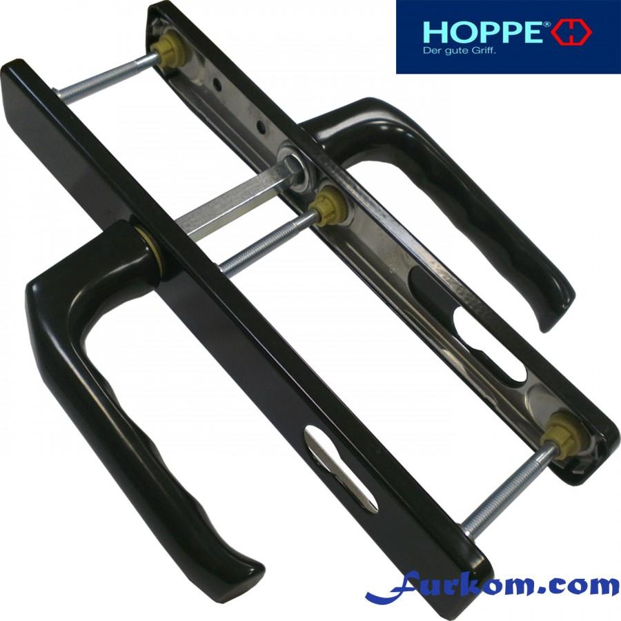 2205595 Ручка дверная Hoppe London (коричневая)
