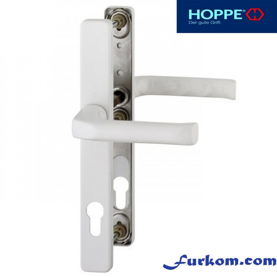 2205616 Ручка дверная Hoppe London (белая)