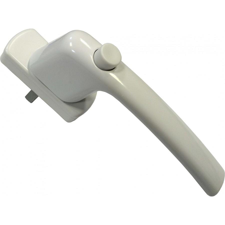 Ручка Масо серия Гармония с кнопкой (белая)